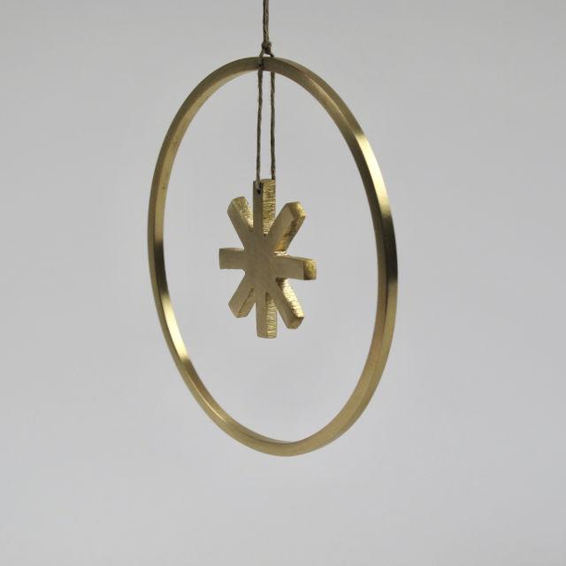 Winterland Brass Star - Small