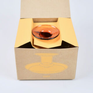 Flare Candlestick - Amber