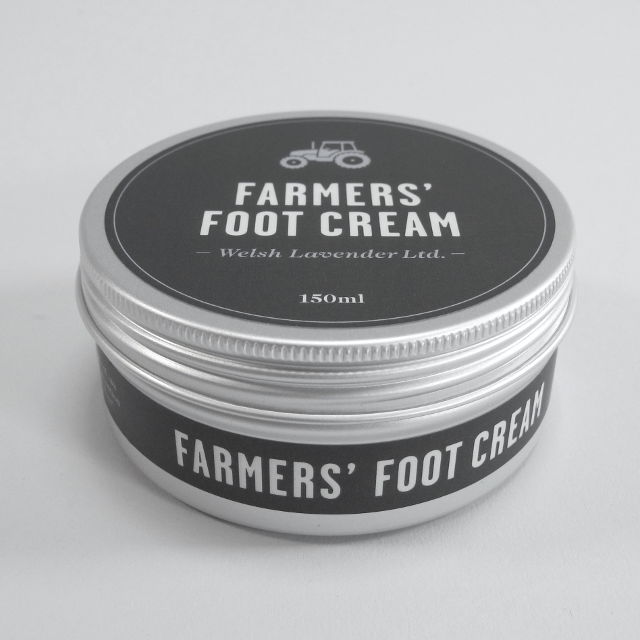 Farmers' Foot Cream made in the Hills of Mid Wales