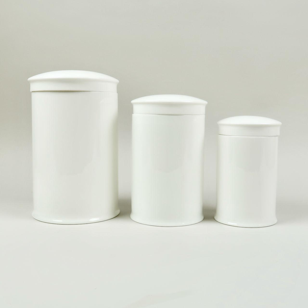 Bone China Storage Jar