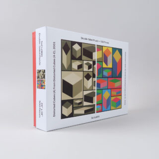 Double-Sided Sol LeWitt Jigsaw - 500 pieces
