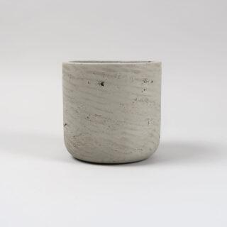 Set of 2 Stratton Plant Pots - Cement