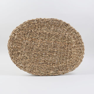 Pair of Braided Sea Grass Table Mats