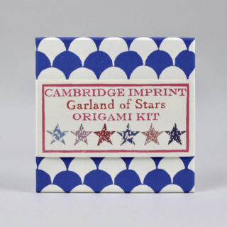 Cambridge Imprint Garland of Stars Origami Kit