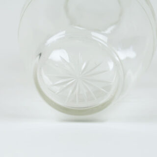 Etched Glass Carafe