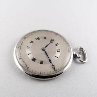 Goldsmiths & Silversmiths Co. circa 1920   platinum vintage dress watch