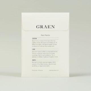 Graen Seeds Red Perilla