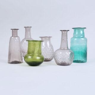 Amethyst Glass Vase - Recycled