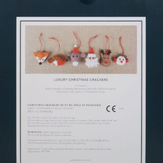 Woodland Christmas Crackers - Box of 6