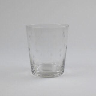 Grand Illusions Glass Tumbler With Etched Star Decoration R1858 2