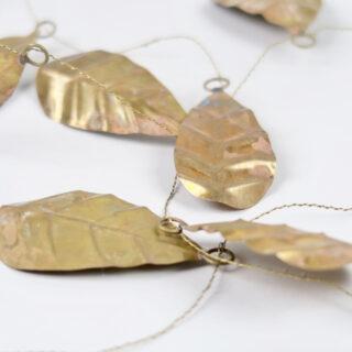 Golden Leaf Garland