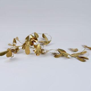 Brass Misteltoe Garland