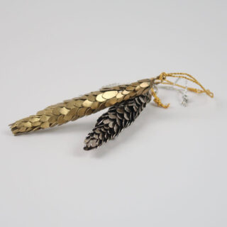 Fir Cone Decoration - Gold