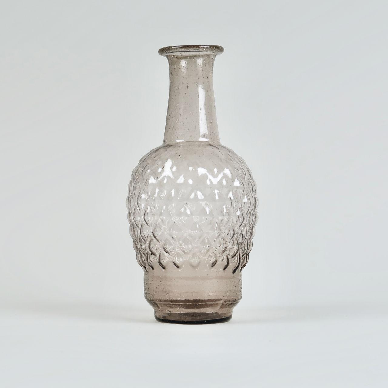 Amethyst Glass Vase - Tapti