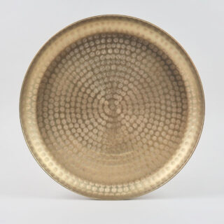 Hammered Brass Tray