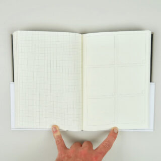 Grids & Guides - A Notebook for Visual Thinkers - Grey