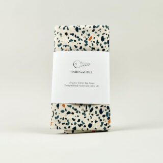 Blue Terrazzo Tea Towel