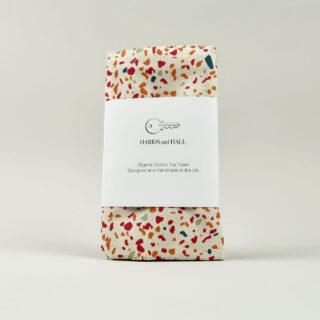 Pink Terrazzo Tea Towel
