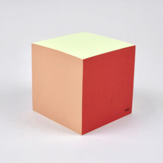 Paper Cube - Rusty Red