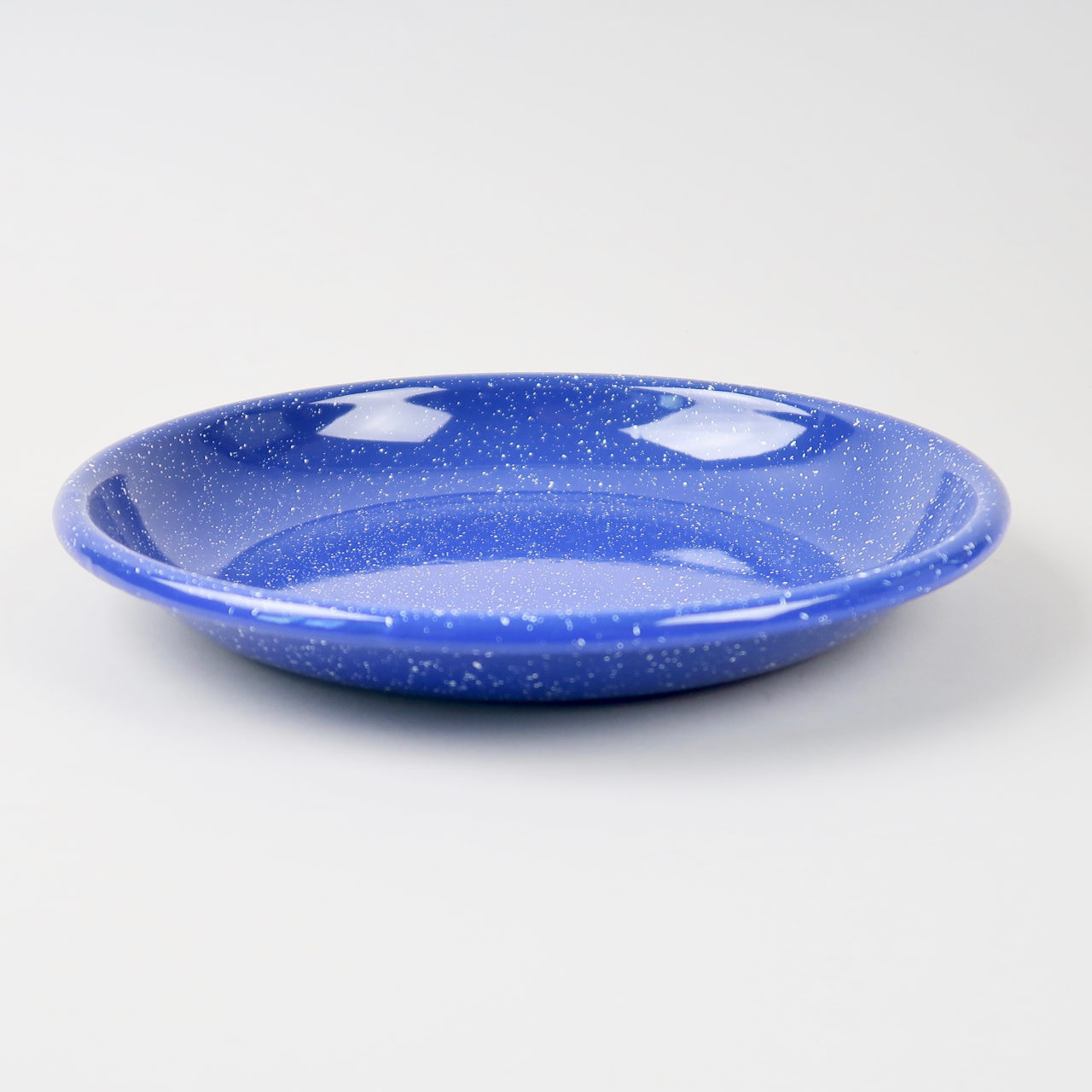 Enamel Deep Plate - Large - Dust Blue