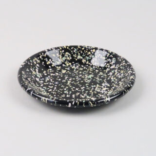 Enamel Dish - Sprinkle Black