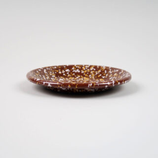 Enamel Dish - Sprinkle Brown