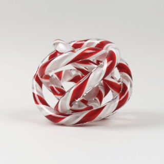 Knot - Red & White - Medium