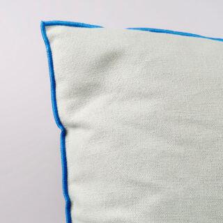 Outline Cushion - Grey Blue