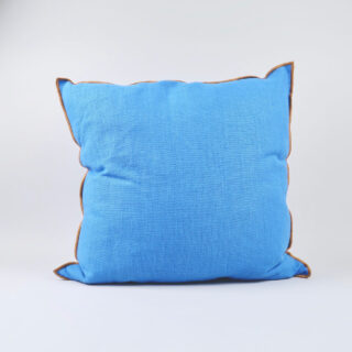 Outline Cushion - Vivid Blue
