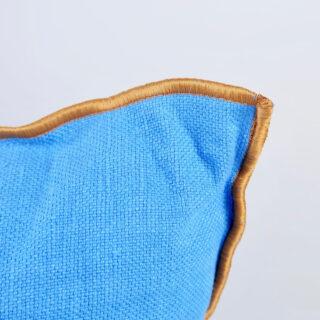 Outline Cushion - Vivid Blue