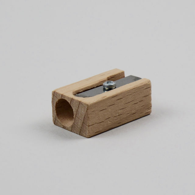 Beech Pencil Sharpener