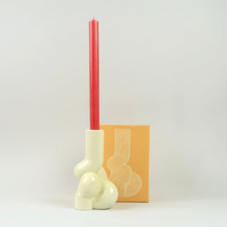 Soft Candleholder - Yellow