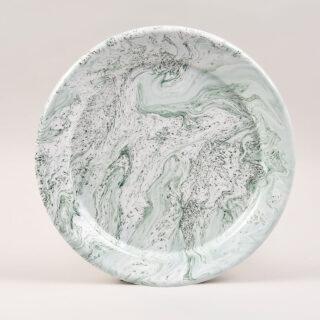 Soft Ice Enamel Dinner Plate