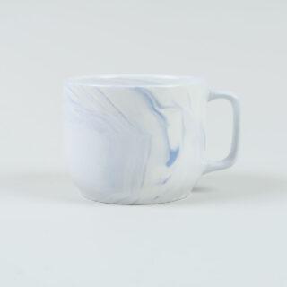 Twist Cup & Saucer - Blue - Medium