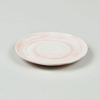 Twist Cup & Saucer - Pink - Medium