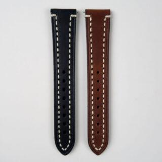 Hirsch Liberty saddle leather watch strap