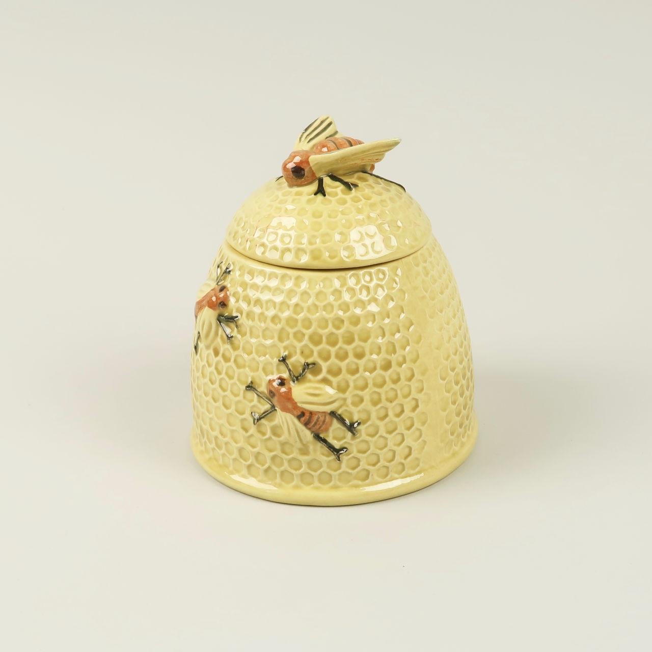 Beehive Form Honey Pot