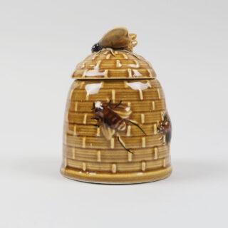 Beehive Form Honey Pot