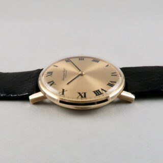 International Watch Co. Cal. 423 gold vintage wristwatch, hallmarked 1976