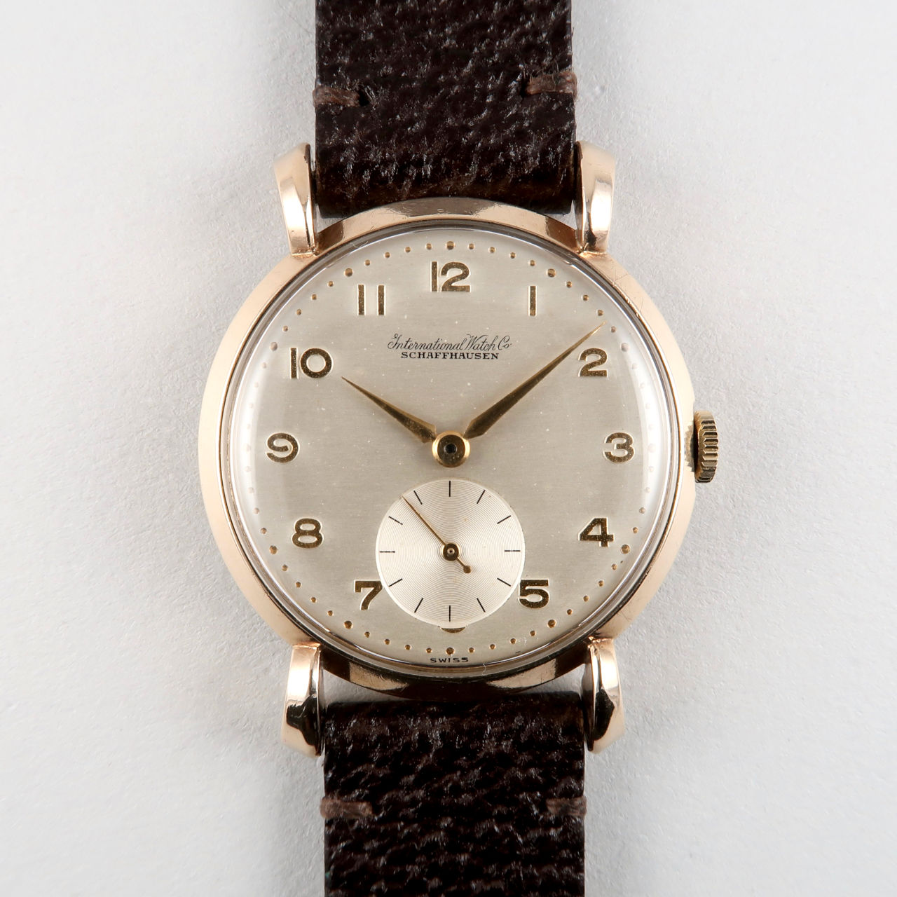 International Watch Co. Cal. 62 hallmarked 1954