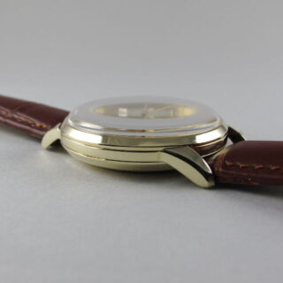 Gold International Watch Co. vintage wristwatch, hallmarked 1964