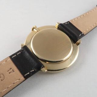 International Watch Co. Ref. 1410 gold vintage wristwatch, hallmarked 1968