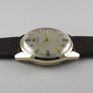 Gold International Watch Co. Ref. 810 vintage wristwatch, hallmarked 1970