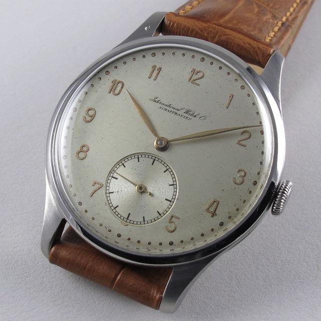 Steel International Watch Co. vintage wristwatch, circa 1942