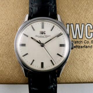 International Watch Company Ref. R810 steel vintage wristwatch, circa 1966