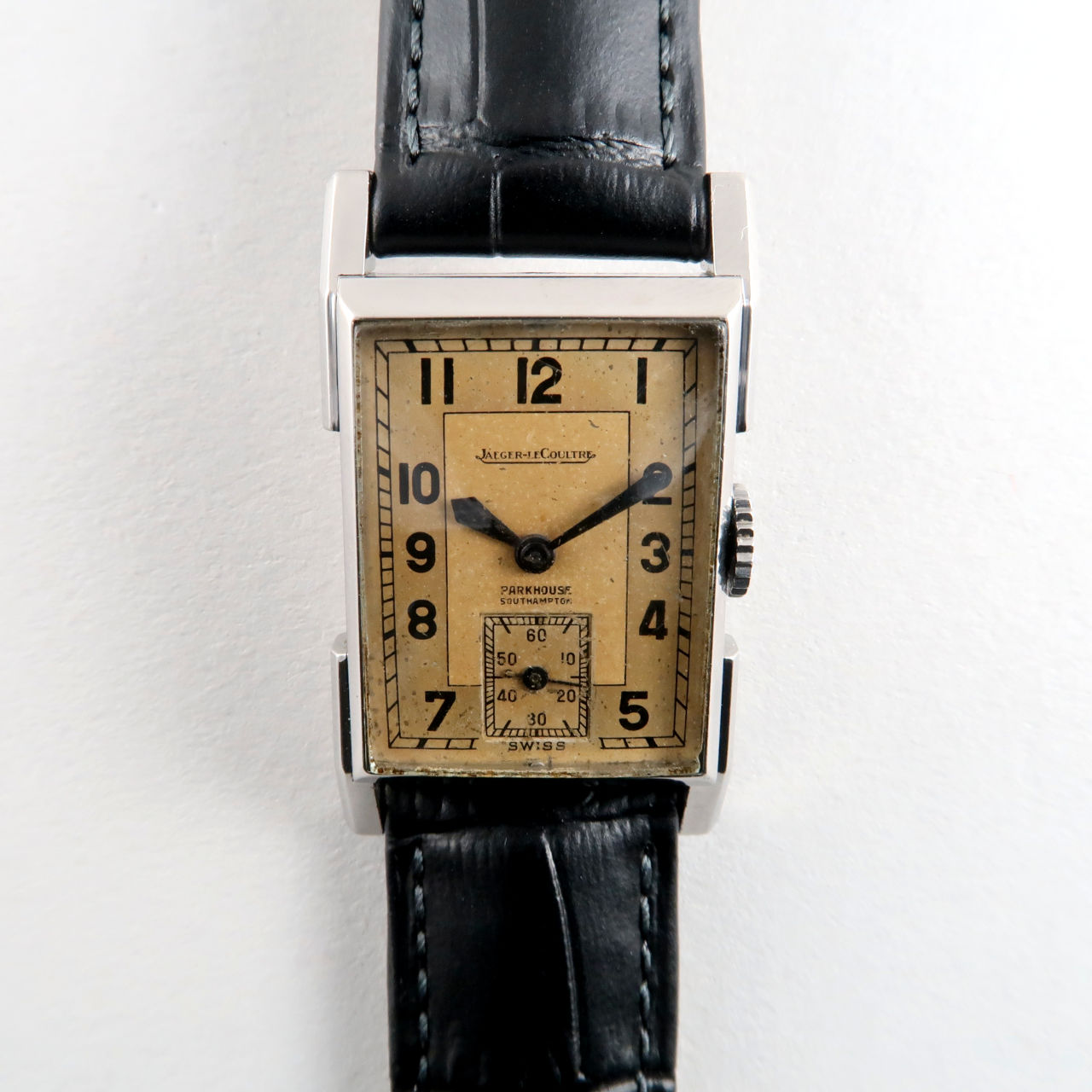 Jaeger-LeCoultre Cal. 410 retailed by Parkhouse Southampton circa 1937