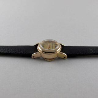 Jaeger-LeCoultre pink gold vintage wristwatch, circa 1948