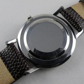 Jaeger-LeCoultre Ref. 1901 steel vintage wristwatch, circa 1965