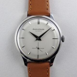 Jaeger-LeCoultre Ref. E326 steel vintage wristwatch, circa 1955