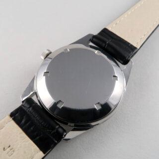 Jaeger-LeCoultre Ref. E557 steel vintage wristwatch, circa 1968